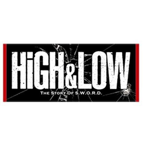 HiGH&LOW フェイスタオルの商品画像
