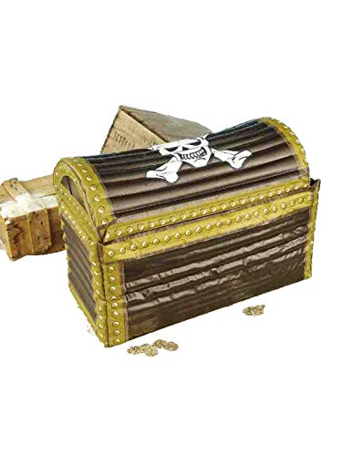Inflatable Treasure Chest Cooler - Forum Novelties Inflatable Treasure Chest, Multi-color, One Size