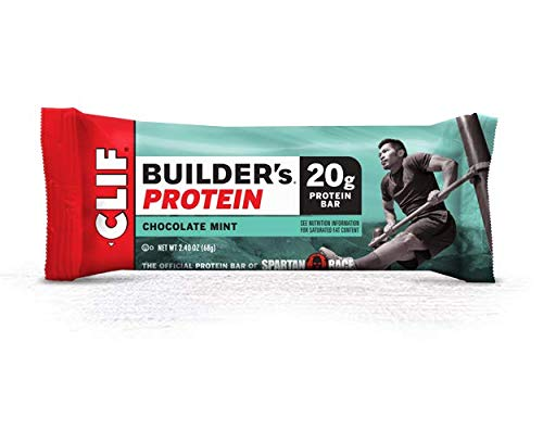 Bulk Pack Protein Bars (Clif Builder's Protein, Chocolate Mint, 12-Pack)