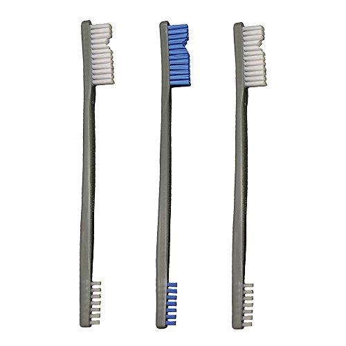Otis Technology (2 Nylon, 1 Blue Nylon) 3 Pack AP Brushes