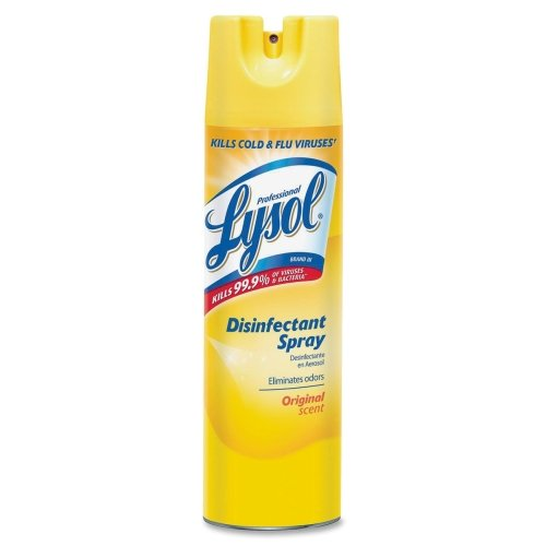 Professional Lysol 04650CT Lysol Disinfectant Spray, 19 oz, 12/CT, Original Scent by Lysol