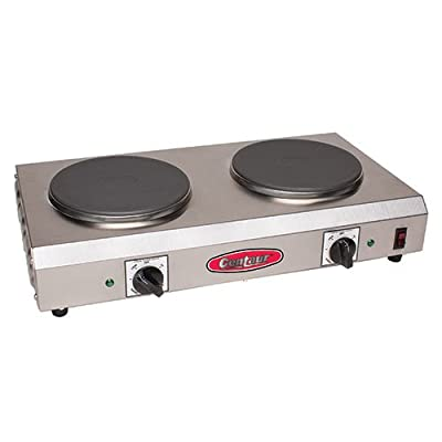 """Value Series CDR-2CEN Electric Countertop Range - Two 7-1/2"""" Diam. Burners, Side to Side"""