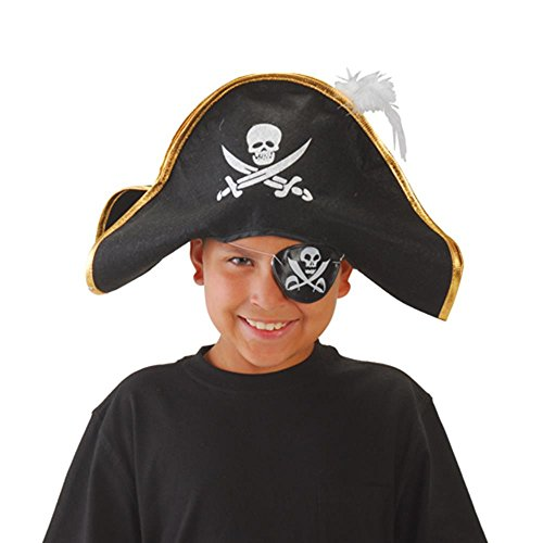 U.S. Toy H253 Pirate Hat with Feather]()