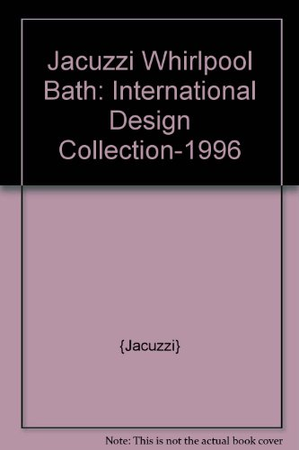 Jacuzzi Whirlpool Bath: International Design (Collection Whirlpool Jacuzzi)