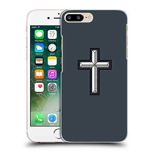 GoGoMobile Coque de Protection TPU Silicone Case pour // Q08030606 Croix chrétienne 28 Arsenic // Apple iPhone 7 PLUS