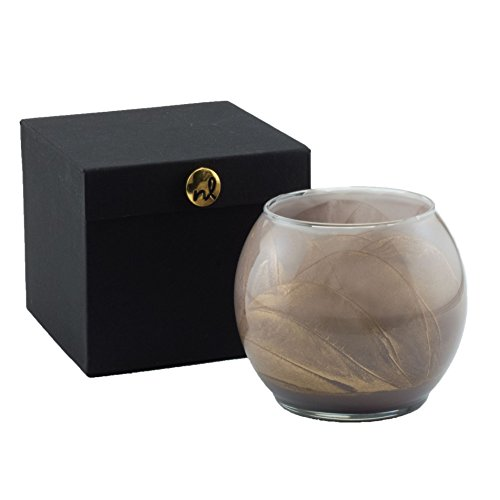 Northern Lights Candles Esque Polished Globe - 4 inch (Barnwood)