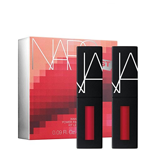 Nars Narsissist Wanted Power Pack Lip Kit, Hot Reds/2 X 0.09 Ounce Cherry Bomb/Dont Stop, 2 Count