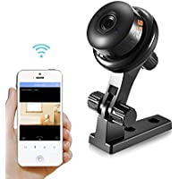 BESDER 720P HD Mini WiFi Camera, Wireless Security IP Camera, Home Nanny Camera with Night Vision Two Way Audio Motion Detection Email Photo Baby Camera Pet Monitor Remote Viewing Cameras
