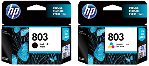 HP 803 2 Pack Economy  1 Black+Tri Color Ink Cartridge
