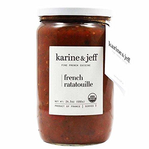 KARINE & JEFF, Ratatouille, Og2, French, Pack of 6, Size 24.3 OZ, (Gluten Free Low Sodium Vegan Wheat Free 95%+ Organic)