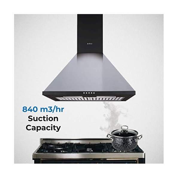 Elica-60-cm-840-m3hr-Chimney-CONE-BF-60-LTW-Nero-2-Baffle-Filters-Black