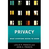 Privacy: What Everyone Needs to Know(r)