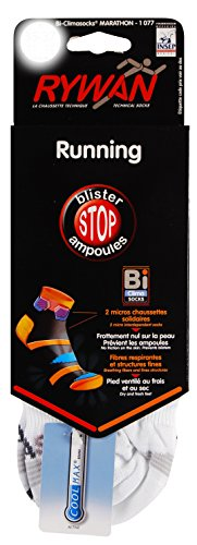 Climasocks Rywan Chaussettes Marathon Blanc Bi C55w7Zx1q