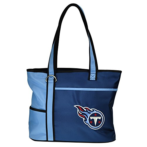(NFL Tennessee Titans Tote Bag with Embroidered Logo)
