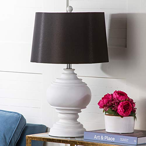Safavieh Lighting Collection Callaway White Table Lamp, 26.5