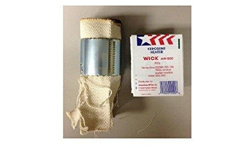 American Wick AW-500 Kerosene Heater Wick Fits Many Perfection Models NEW (Kerosene Antique Heater Wicks)