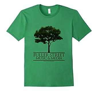 Men's Official Fuller Street Music & Media Shirt 3XL Grass