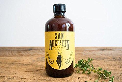 San Augustin Datil Pepper Table Sauce, 8 ounce bottle