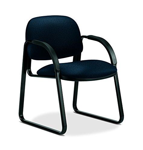 (HON Sensible Seating 6008 Sled Base Guest Chair, Gray)