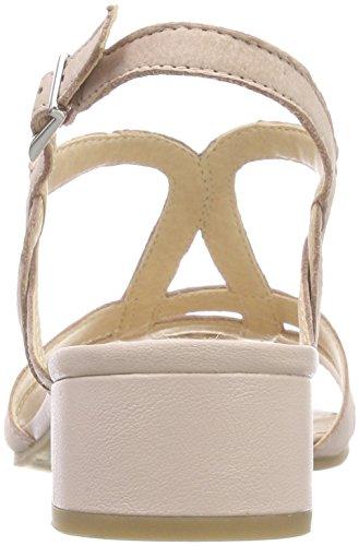 Capriccio Damen 28201 Slingback Rot Sandali (rosa Nubuc 509)