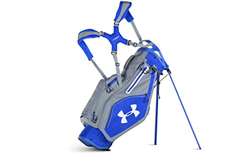 Under Armour Storm Match Play Stand Golf Bag (Blue Marker/Steel)