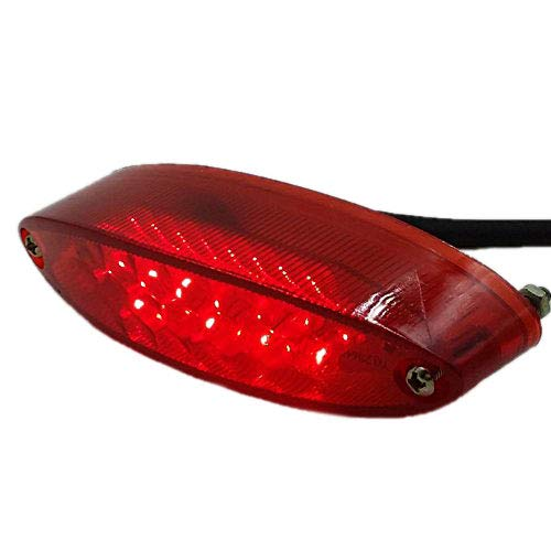 rot Motorrad LED Brems Stopp R/ücklicht ATV Dual Sport Quad Bobber Arctic Katze UTV Custom.