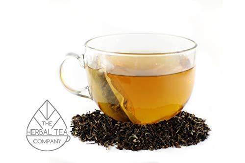 Mugwort Tea Darjeeling Tea Blend Tea Bags Organic With Mango Flavour 50 Pack