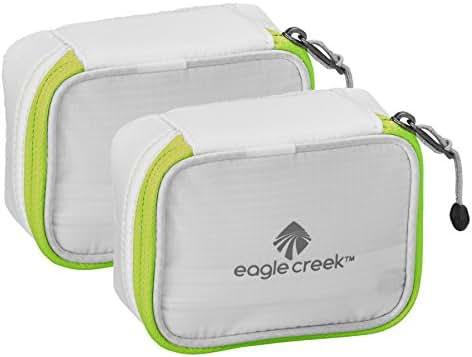 Eagle Creek Pack-it Specter Mini Cube(Extra S) -2pc Set, White/Strobe