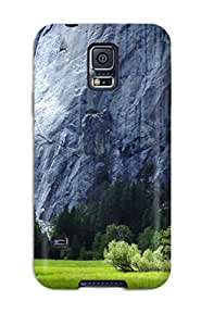 MoniqueN Case Cover Protector Specially Made For Galaxy S5 Scenery