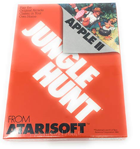Jungle Hunt From Atarisoft For Apple II