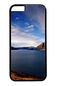 Case Cover For SamSung Galaxy Note 2 and Cover -Quiet lakeside blue sky Polycarbonate Hard Case Back Cover for Black