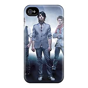 Defender Case With Nice Appearance (jonas Brothers) For Iphone 4/4s