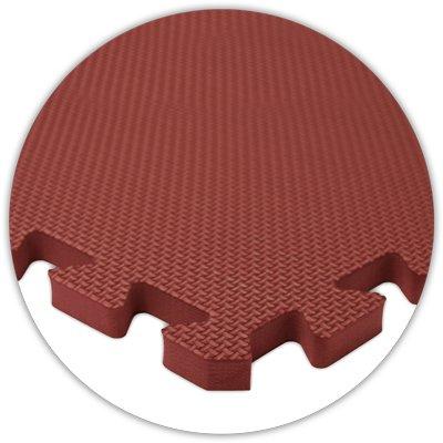 Premium Softfloor Flooring 20 X20 Floor Burgundy 5 8