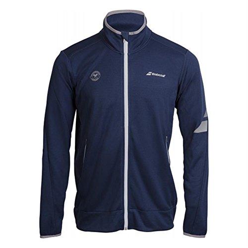 de azul marino Wimbledon hombre chaqueta tenis azul de Babolat de rendimiento marino 1xBIqASnw
