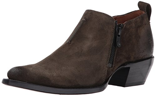 Boots Oiled Suede - FRYE Women's Sacha Moto Shootie Boot Fatigue Soft Oiled Suede 8.5 M US