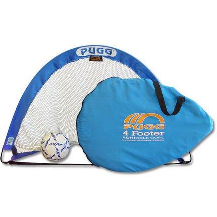 PUGG 4 Footer Portable Training Goal Set (Two Goals & Bag)