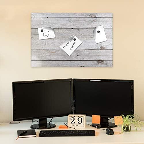 /École Fabriqu/é dans l/'UE Chambre et Maison Parfait pour Bureau Creative Home 30 x 40 cm Tableau Li/ège Mural Affichage Cadre de Pin /à /Épingles