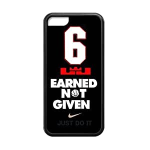 HD image pic picture Miami Heat star LeBron James Apple ipod touch4 Case Cover TPU Laser Technology NIKE JUST DO IT #6 Earned Given