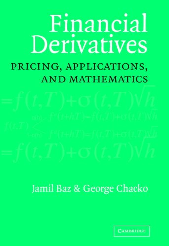 Download Financial Derivatives: Pricing, Applications, and Mathematics Pdf