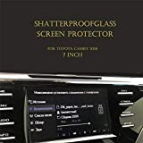 AjaxStore - 7 Inch 8 Inch Car Navigation Screen Glass Protector Guard Screen Protective For Toyota Camry