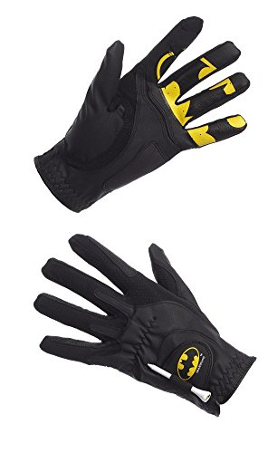 Creative Covers for Golf Malebatman Golf Glove - Men's O/S, Black/Yellow, One Size]()