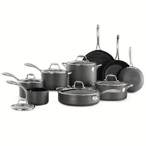Tramontina Professional Cookware (Tramontina 15-Piece Hard Anodized Cookware Set)