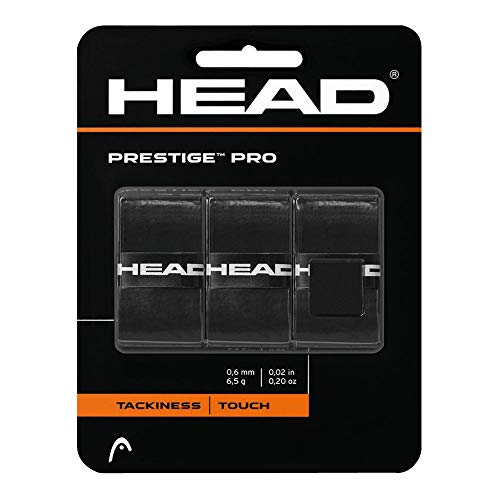 HEAD Prestige Pro Tennis Racquet Overgrip – Black