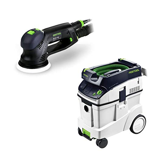 Festool RO 125 FEQ 5″ Dual Mode Rotex Sander with T-Loc + CT 48 Dust Extractor Package Review