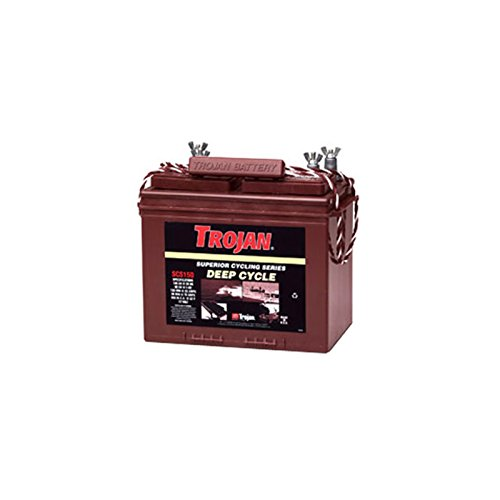 (Trojan SCS150 12V 100Ah Group 24 Superior Deep Cycle Battery FAST USA SHIP)