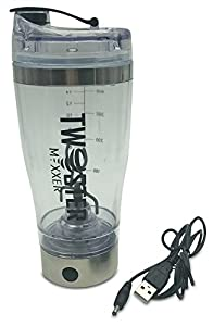 Twister Mixxer Vortex Mixer Stainless Steel Shaker Bottle Li-ion USB Rechargeable – I liked it so much I have two now
