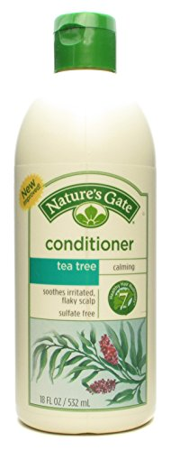Nature's Gate Tea Tree + Sea Buckthorn Calming Conditioner 18 fl oz (532 ml) Liquid Natures Gate Tea Tree Conditioner