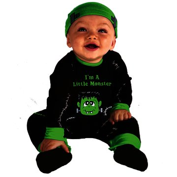 Lil' Monster Infant Costume, 0-6 (Lil Monster Baby Halloween Costume)