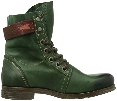 Fly London Stay - Botas biker Verde (Green)