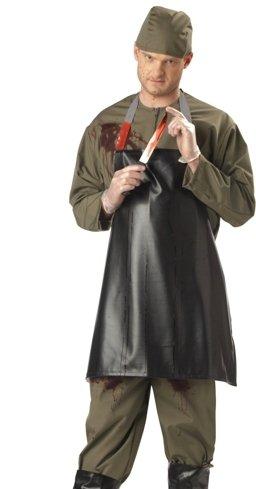 Dexter Serial Killer Adult Halloween Costume siz -